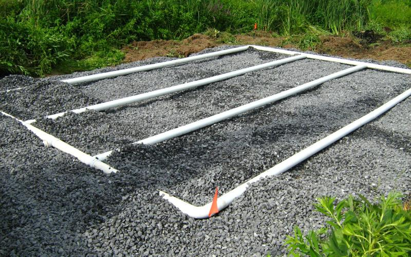 Drainage ostiguy et robert excavations st c saire champ for Analyse de sol pour fosse septique